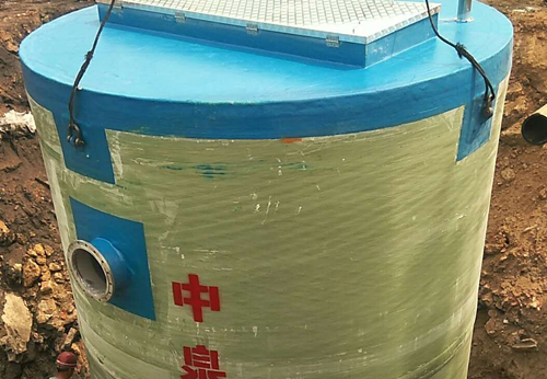 唐山市政一体化预制泵站施工