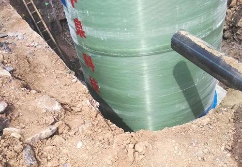 一体化预制泵站施工